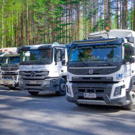 Jätehuolto ja kierrätys Punkaharjun Kuljetus Muhonen Oy